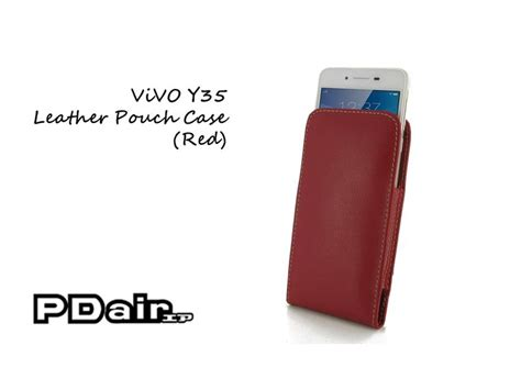 Leather Flip Vivo Y35 pdair vivo y35 leather pouch vivo y35 pouch