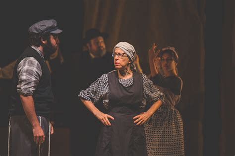 a gossip in yiddish a fiddler on the roof in yiddish review as directed by