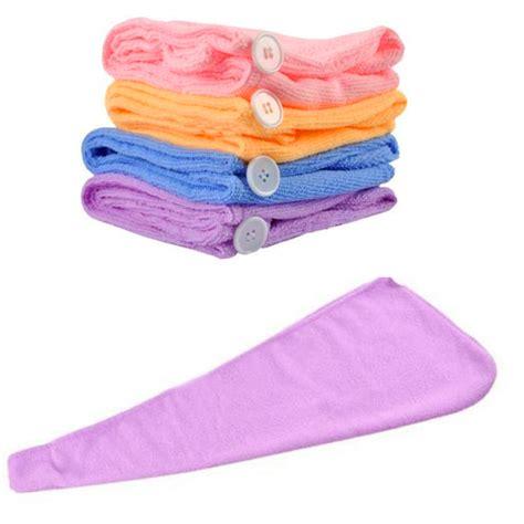Hair Dryer Or Towel towel microfiber hair wraps fast cap drying bath