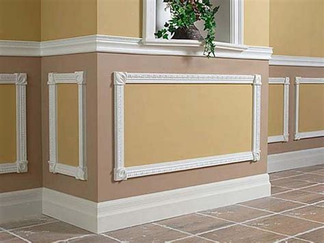 Wainscoting Molding Trim by Planning Ideas Wainscot Trim Ideas Wainscot Paneling