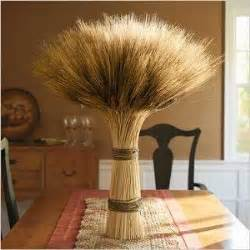 wheat stalks for centerpieces fall festivities time blissfully domestic