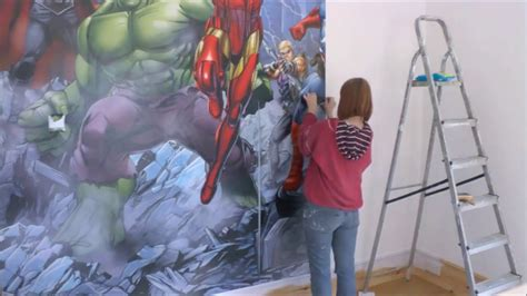 dulux marvel avengers bedroom in a box officially awesome argos bedroom avenger bike stickers avengers accessories