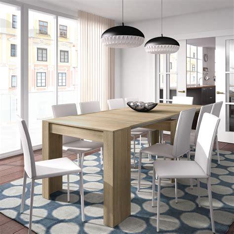 junior extending table nordic grande 5 position oak effect extending dining table