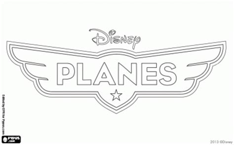 disney logo coloring page logo of the film from disney planes coloring page