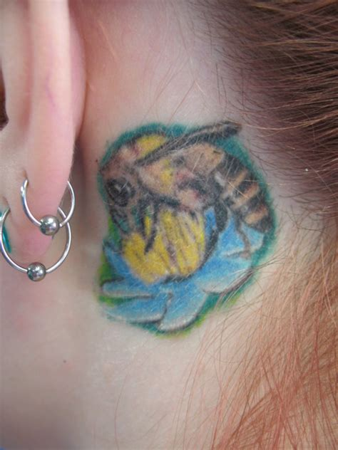 agaru tattoo tiny bee picture at checkoutmyink