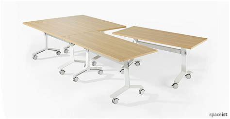 Folding Meeting Tables Folding Tables Blade Folding Table Oak