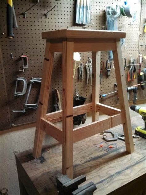 build a shop stool shop stool made from only 2x4s by bpatterson