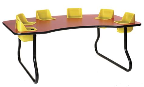 6 seat toddler table for your church nursery church