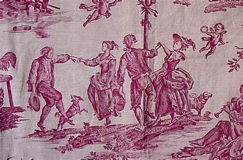 toile pattern history brief history of toile and exles through the years