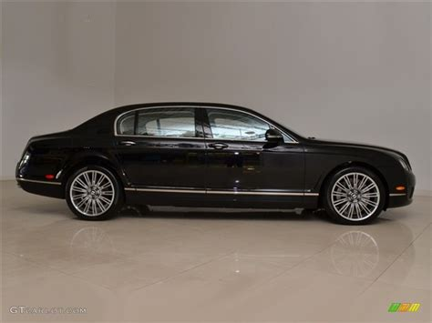bentley flying spur black interior 2010 onyx black bentley continental flying spur speed