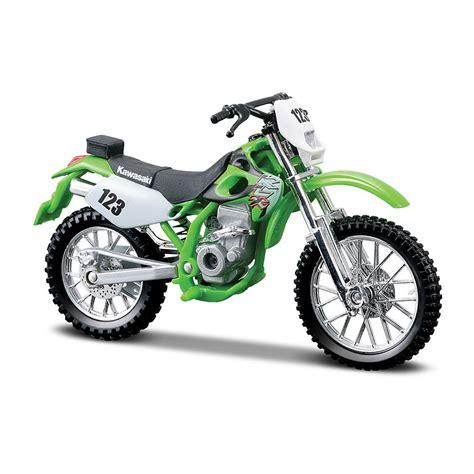 maisto kawasaki klxsr  model motorsiklet loco