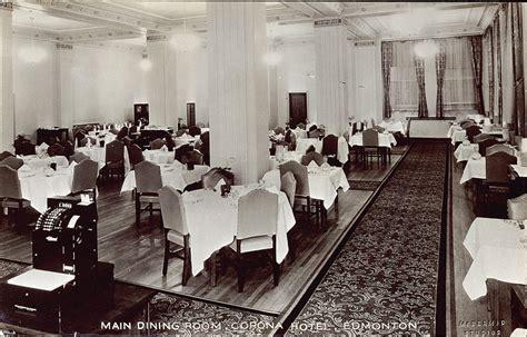 Dining Room Attendant Edmonton Postcard 6442 Mcdermid Studios Dining Room Corona