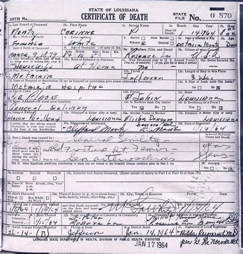 Louisiana Marriage Certificate Records Step By Step Louisiana Research 1880 Present Genealogy