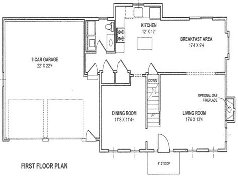 house plans with detached garage in back ranch house plans detached garage