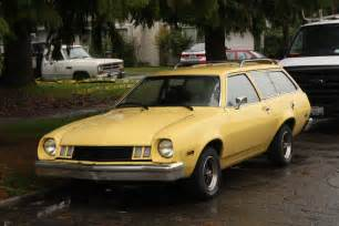 parked cars 1977 ford pinto wagon