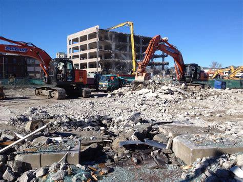 Amazing demolition and construction equipment photo