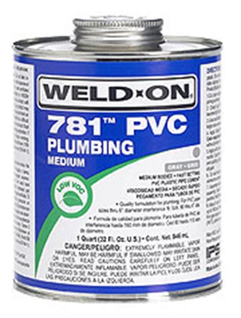 Weldon Plumbing by 781 Pvc Plumbing Cement Ips Corporation