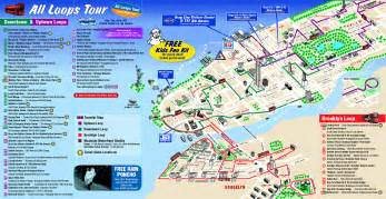 Map Of New York City Attractions by Detailed Tourist Map Of New York City New York City