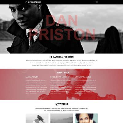 Muse Templates For Photographers photography muse templates