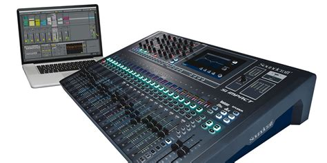 Mixer Audio si impact soundcraft professional audio mixers