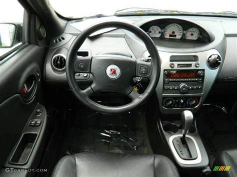 black interior 2006 saturn ion 3 coupe photo