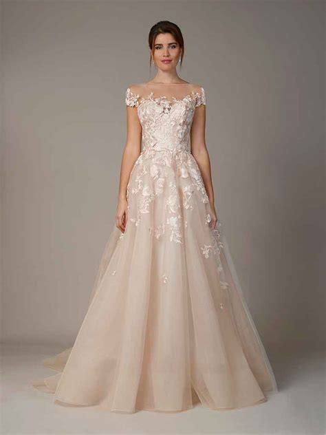 Dress Gamis Al Fa Collection T101117 liancarlo fall 2018 collection bridal fashion week photos