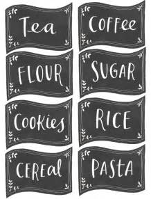 Food Labels For Kitchen Free Pantry Labels Fab N Free