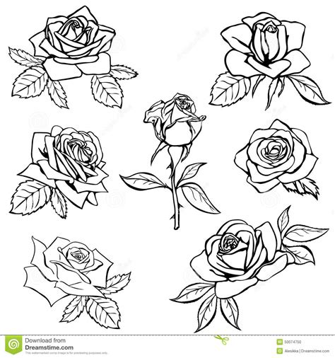 rose bud tattoo designs eszteiz school outline search tatt designs
