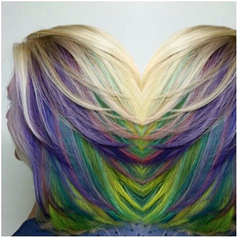 pattern hair color hair color pinwheel pattern short hairstyle 2013
