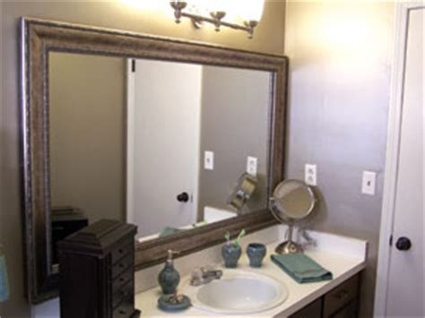 do it yourself framing a bathroom mirror do it yourself mirror frames extreme how to