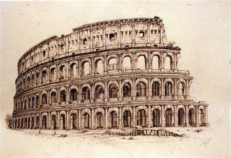colosseum by arcitenens on deviantart
