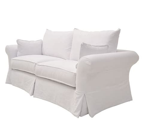 White Slipcovered Sofas 17 Best Images About Sofas And Loveseats On