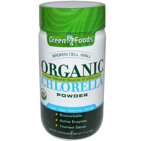 Chlorella Powder green foods corporation organic chlorella powder 2 1 oz