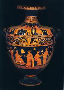Design Of Vase Painting Museum Hopping The Benaki