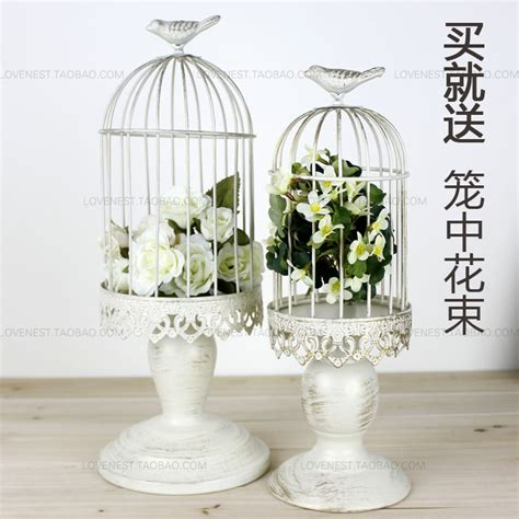 how to decorate a birdcage home decor french finishing iron white decorative bird cages