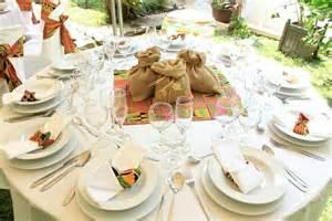 deco de table pour mariage africain d 233 co