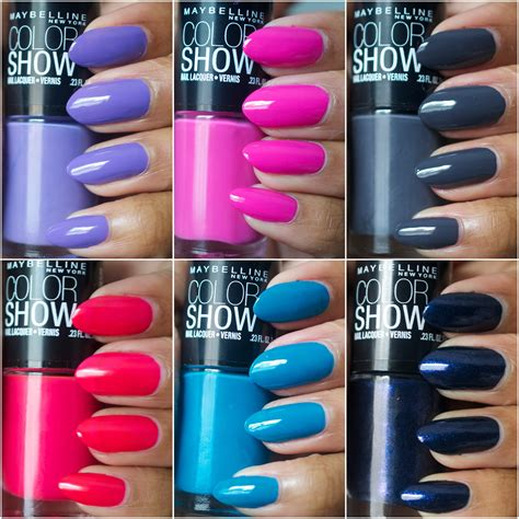 Maybelline Color Show maybelline color show nail polishes the style rundown
