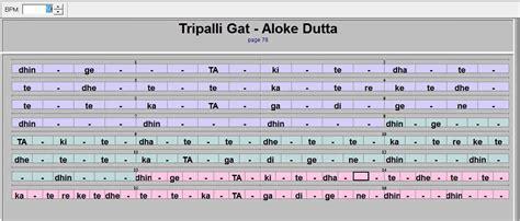 tabla lessons tripalli gat in 3 movements aloke dutta tabla