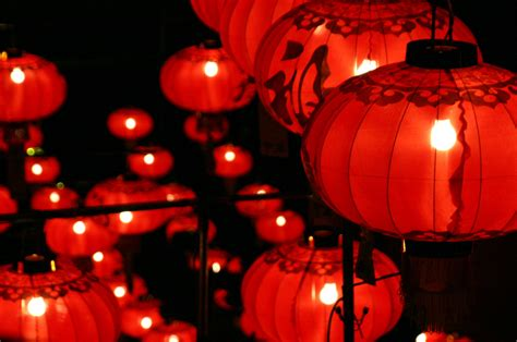 lanterns in new year lantern festival car interior design