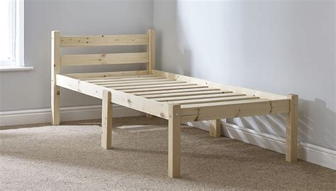 2ft 6 bed frame cleveland 2ft 6 small single solid pine bed frame