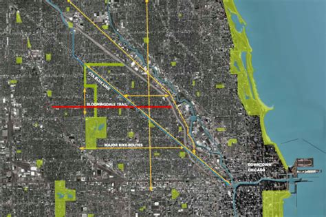 chicago 606 map construction begins on chicago s 2 7 mile