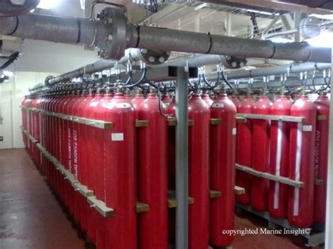 Engine Room Suppression Systems 12 things you must do before operating ship s co2