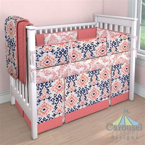 navy and coral baby bedding 25 best ideas about coral navy nursery on pinterest
