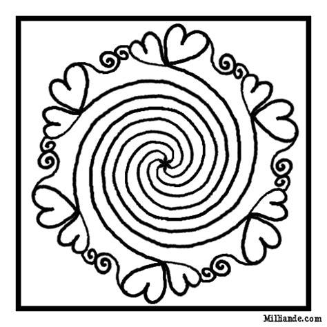 spiral mandala coloring pages spiral spiral mandala coloring pages