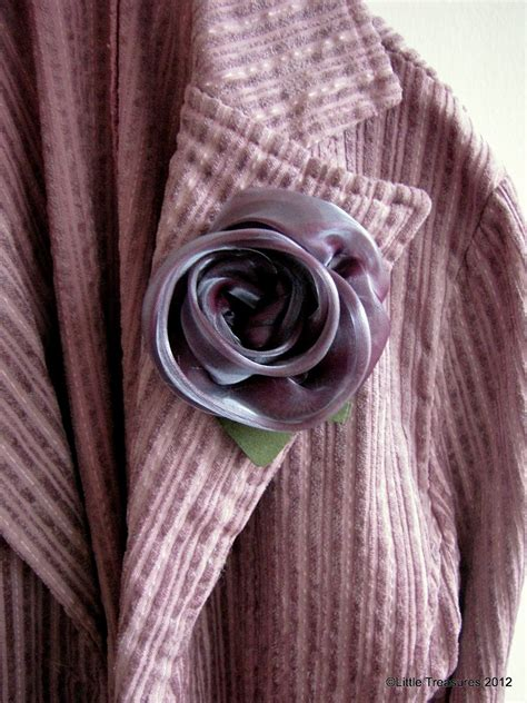 Tutorial Rose In Organza | little treasures last minute gifts organza rose a tutorial