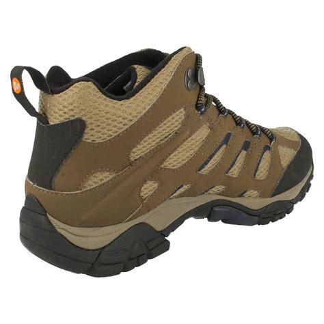 merrell moab boots mens merrell tex boots moab mid j87701 j65263