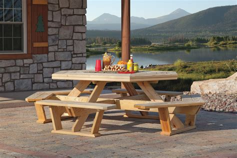 octagon picnic table for sale picnic tables for sale 6u0027 rectangular portable picnic