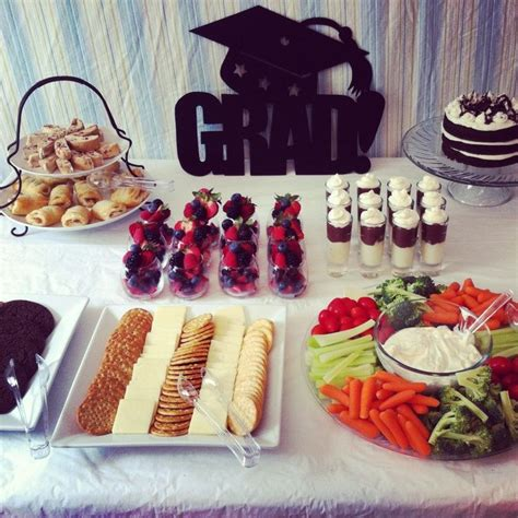 themes for college parties college graduation party ideas food graduation party