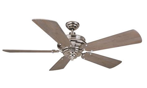 Ceiling Fan With Remote Included by Craftmade Ts52pln Polished Nickel 52 Quot 5 Blade Indoor