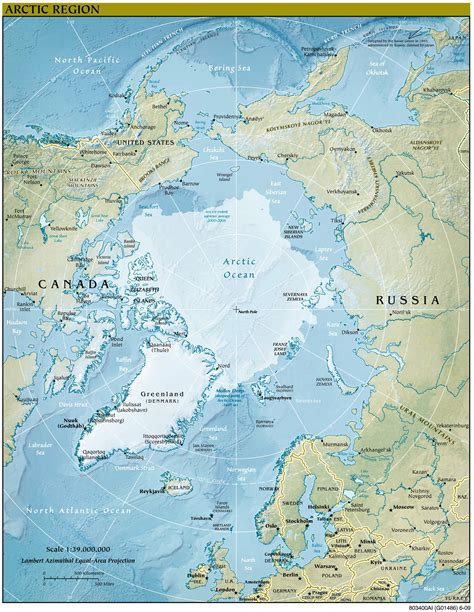 Nordpol   Weltatlas